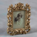 "Baroque Antique Gold Photo Picture Frame Gift 7""x5"""